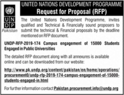 Get a Latest Jobs In United Nation Development Programme 2019