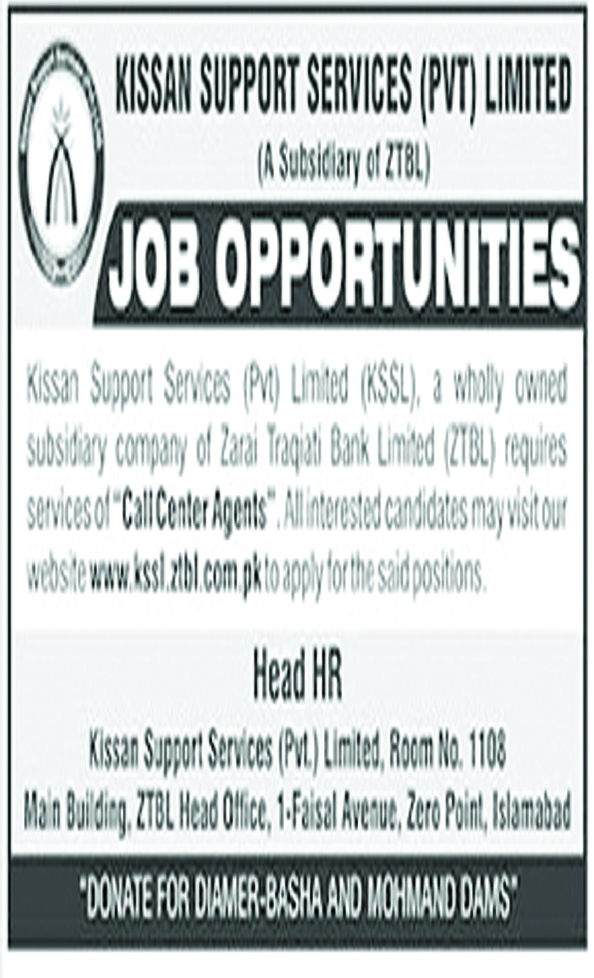 Job In Kissan Support Services Pvt Limited 1 Sep 2018