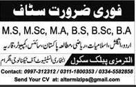 Jobs In Al-Bukhari Institute Of Technology 02 Jan 2018