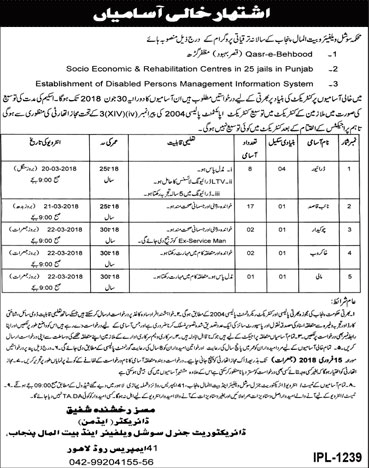 Jobs In Charity And Social Welfare Organisation 31 Jan 2018