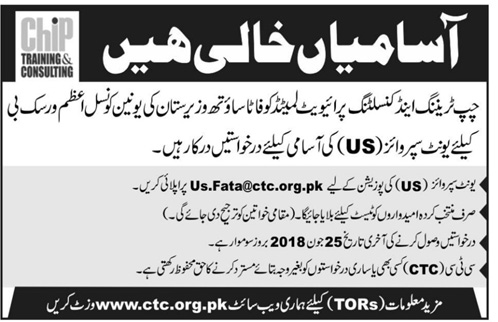 Jobs in Chip Training & Consulting 22 June 2018