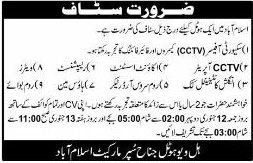 Jobs In Hill View Hotel Islamabad 11 Jan 2018
