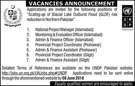 Jobs in Scaling up of Glacial Lake Outburst Flood 27 May 2018