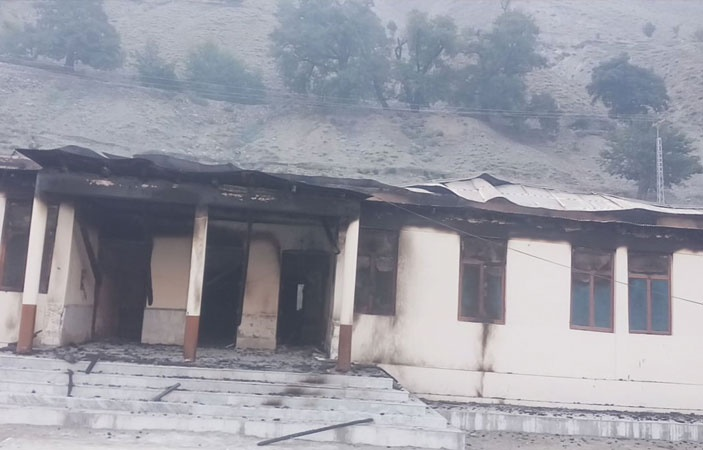 12 Schools Set on Fire in Diamer District of Gilgit Baltistan