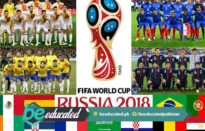 2018 FIFA World Cup Starts Today from 14 June