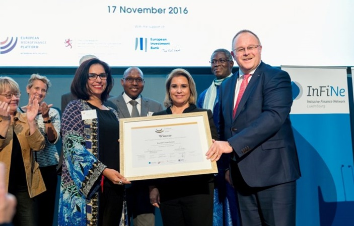 Kashf Foundation wins European Microfinance Award