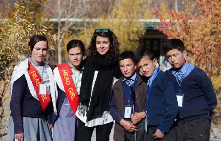 Pakistani girl in Islamabad has left her six-figure job to teach children in Hunza village