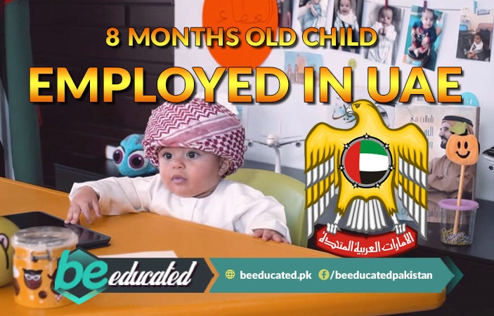 8 Month Old Child Employed in UAE