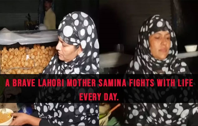 A Brave Lahori Mother Samina Fights With Life Every Day