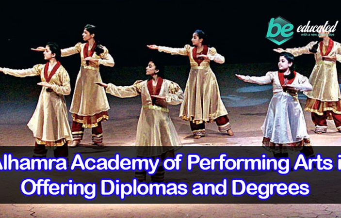 Alhamra Academy of Performing Arts is Offering Diplomas and Degrees