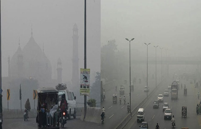 Another dangerous spell of SMOG hits Lahore !