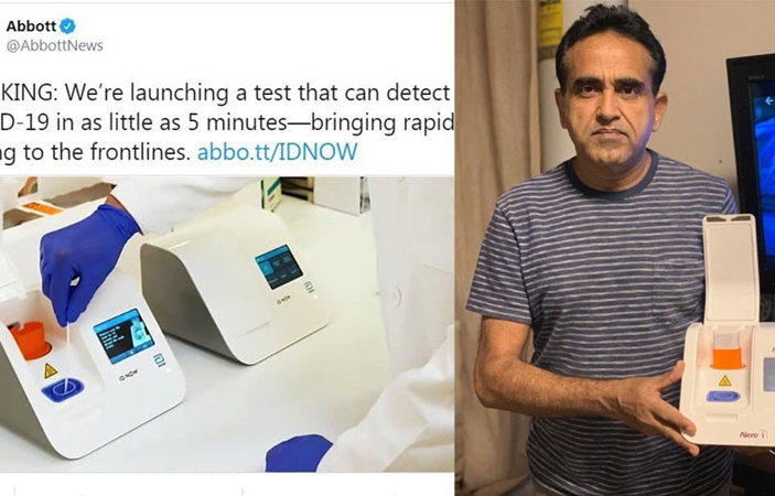 Emerging Pakistani Scientist developed a USA base Coronavirus Testing Kit