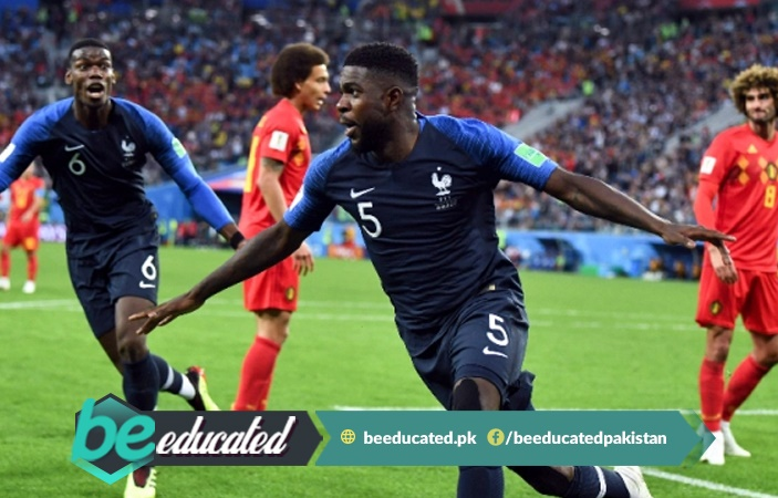 France Kicks out Belgium from FIFA World cup