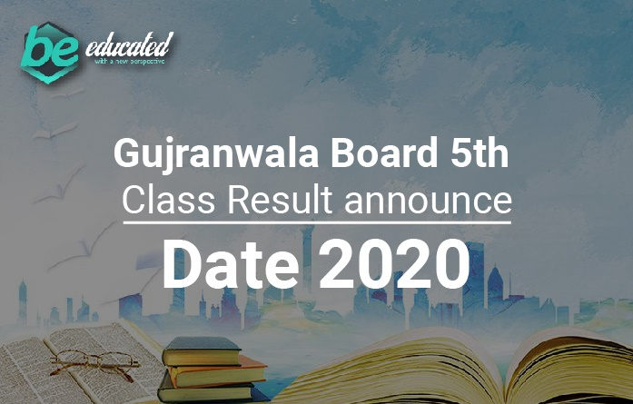 Gujranwala Board 5th Class Result 2020
