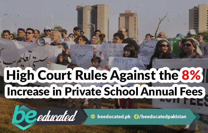 High Court Rules Against the 8% Increase in Private School Annual Fees
