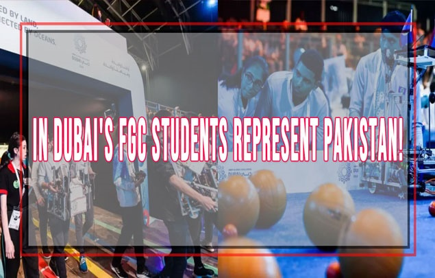 In Dubai's FGC Students represent Pakistan!