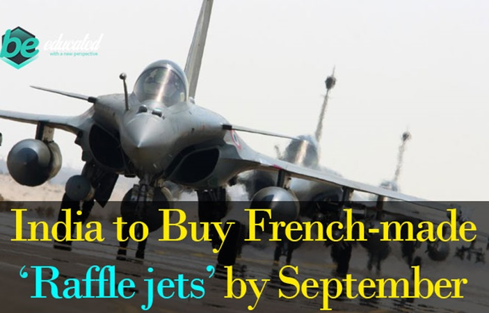 India to Buy French-made Rafle Jets by September