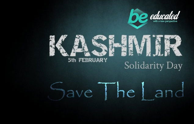 Kashmir day on 5th of February