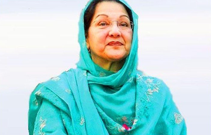 Kulsoom Nawaz's Dead Body Arrives at Lahore Airport