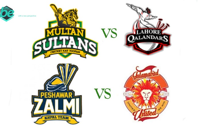 Lahore Qalandar vs Multan Sultan & Islamabad United and Peshawar Zalmi Live Match