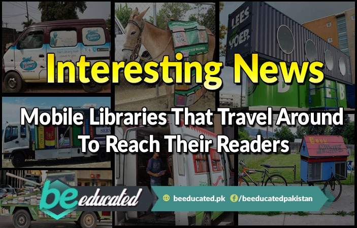 Mobile Libraries That Travel Around To Reach Their Readers