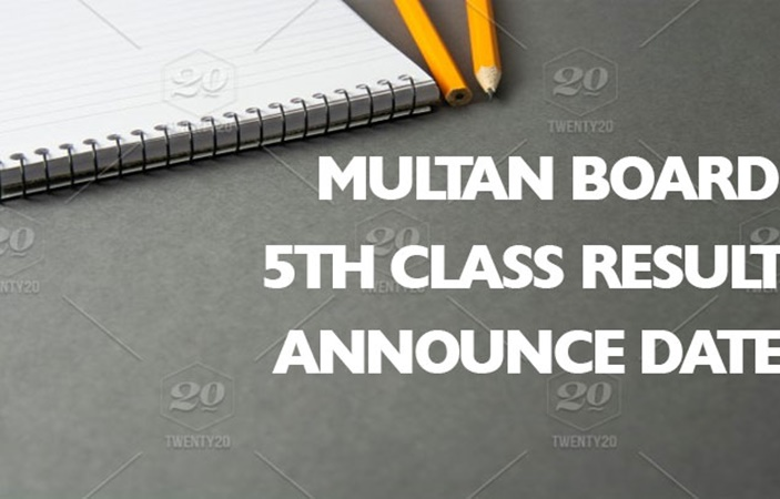 Multan Board 5th Class Result 2020
