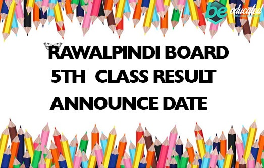Rawalpindi Board 5th Class Result 2020