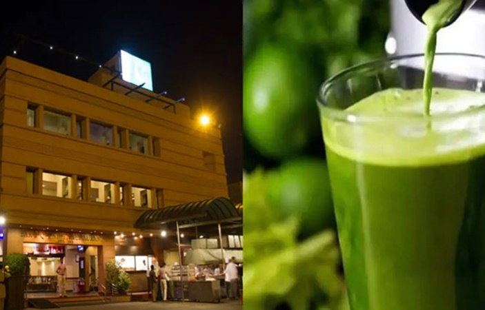 Restaurants at Karachi Are Serving Free Papaya Leaf Juice For Dengue Cure!