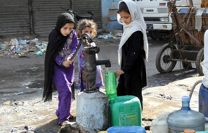 Shortage of Water in NA 248