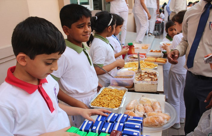 To check food quality PFA raid 700 schools