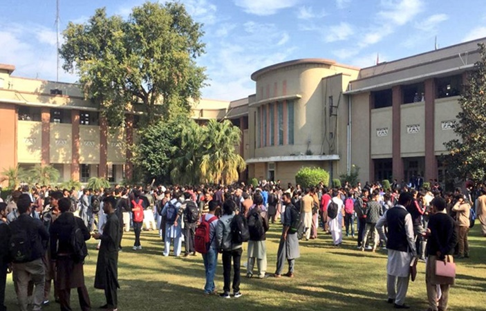 UET Students Protest against Fee Hike