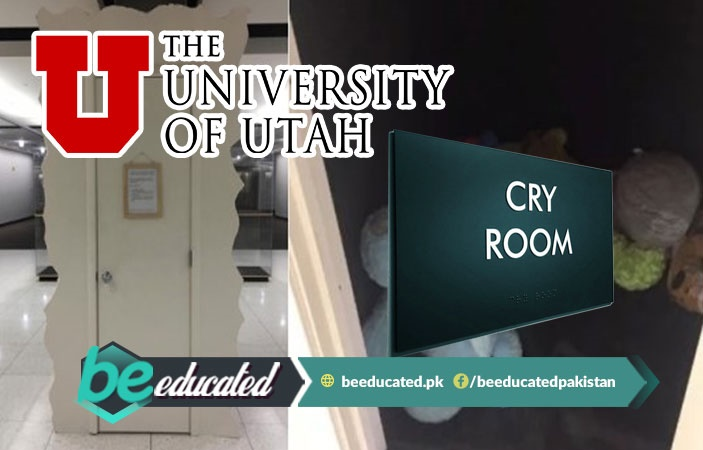 University of Utah Builds A Special Room For Crying
