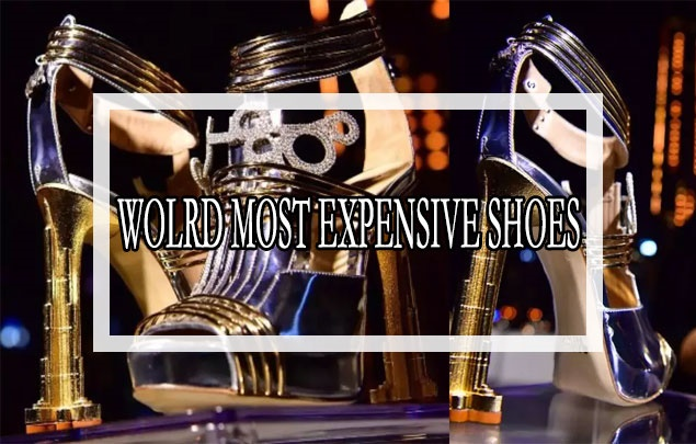World's Most Expensive Shoes were introduced in Dubai