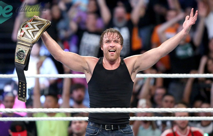 Wrestler Dean Ambrose Left WWE