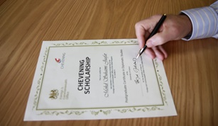 Chevening Scholarship registration reaching deadline