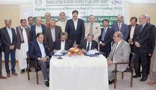 MoU signed between CPNE and SZABUL