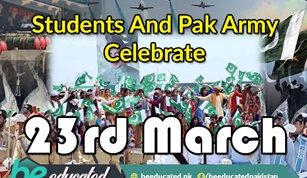 Students of All Ages Celebrated Pakistan Day with Zeal