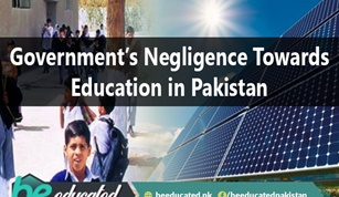 Government Negligence towards Education in Pakistan