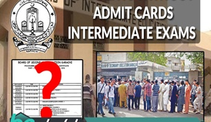 Students Without Admit Cards One Day Before Intermediate Exams