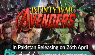 AVENGERS INFINITY WAR Is Releasing on 26th April