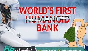 World's First Humanoid Bank