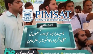PIMSAT Students Appealing For the Verification of Their Degrees