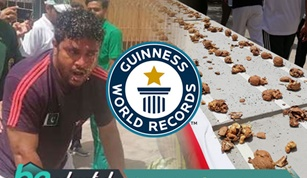 RASHID NASEEM CREATES A NEW WORLD RECORD