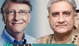 Bill Gates Calls Army Chief of Pakistan