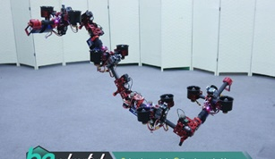 DRAGON Drone that Changes its Shape While Flying