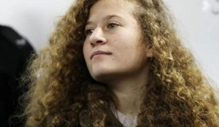 Ahed Tamimi a Palestine Teenager Released from Prison
