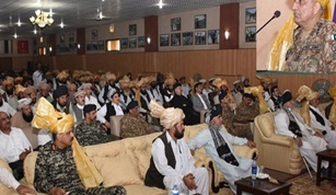 Army Chief Thanks Wanna Tribal Leaders for Their Support