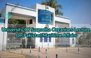 Lecture delivered on Pakistan Maritime in Sargodha University