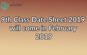 9th Class Data Sheet 2019 All Boards Of Punjab