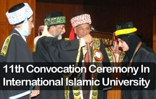 International Islamic University Celebrated Eleventh Convocation